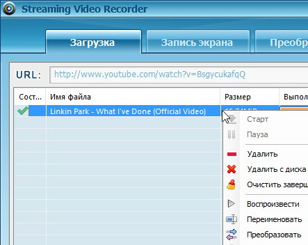 Streaming Video Recorder 5.1.3
